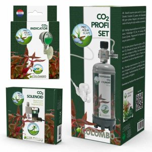 Colombo CO2 Set, CO2 Solenoid & CO2 Drop Checker