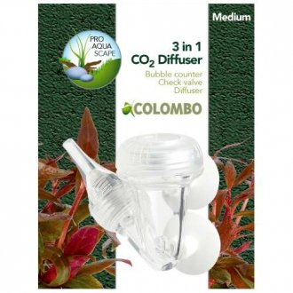 Colombo 3 in 1 CO2 Diffuser - Medium