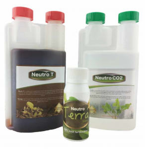 Neutro Fertiliser Set - Low tech (Small) with TerraTabs (x15)
