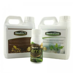 Neutro Fertiliser Set - Low tech (Medium) with TerraTabs (x15)