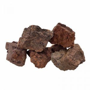 Red Lava Rock - per kg
