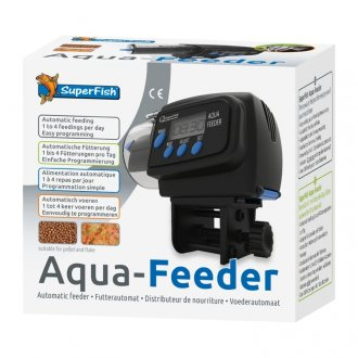 Superfish Aqua-Feeder Automatic Feeder - Black (special order)