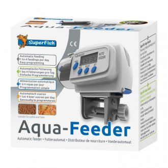 Superfish Aqua-Feeder Automatic Feeder - White (special order)